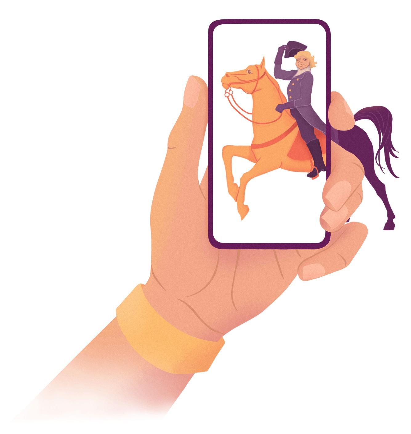 Salmi Platform AR hevonen